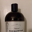 Calily Life Organic Detoxifying Charcoal + Eucalyptus + Peppermint Face and Body Wash,