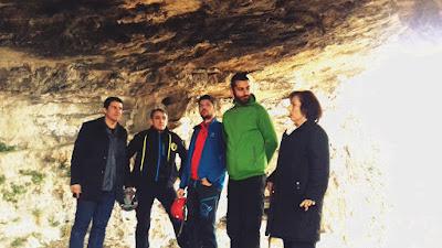 Επίσκεψη σπηλαιολόγων στην ορεινή Βροντού
