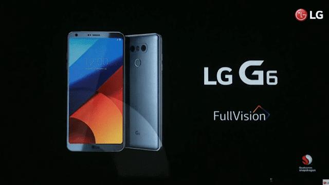 فعاليات مؤتمر MWC 2017 | إل جي تكشف رسمياً عن هاتفها الجديد LG G6