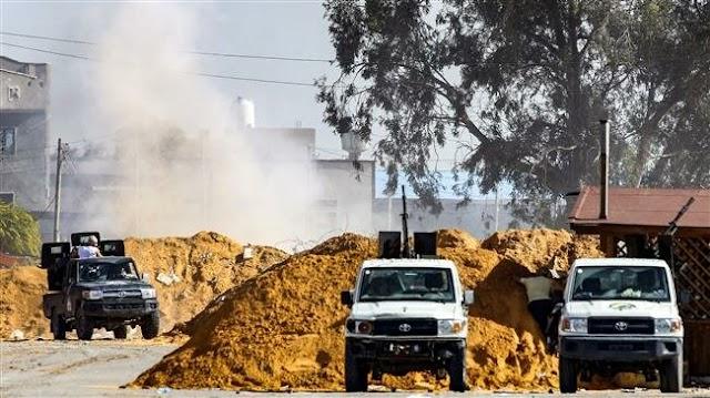 Marshal Khalifa  Haftar uses jets to bomb Tripoli as troops bogged down