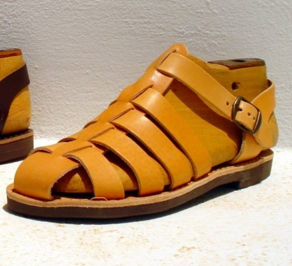 c8e60c321f2de8 Greeks have been making sandals longer than anyone else. A modern day  maker