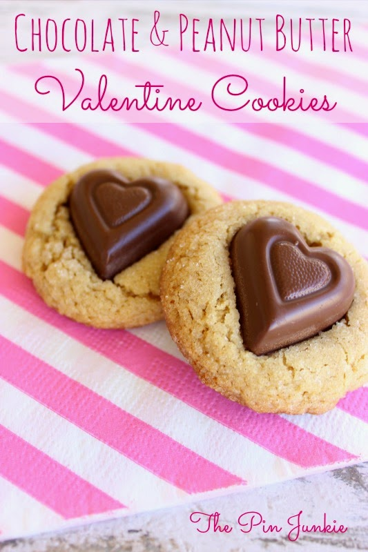 chocolate-peanut-butter-valentine cookies