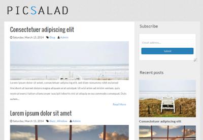Picsalad Blogger Template