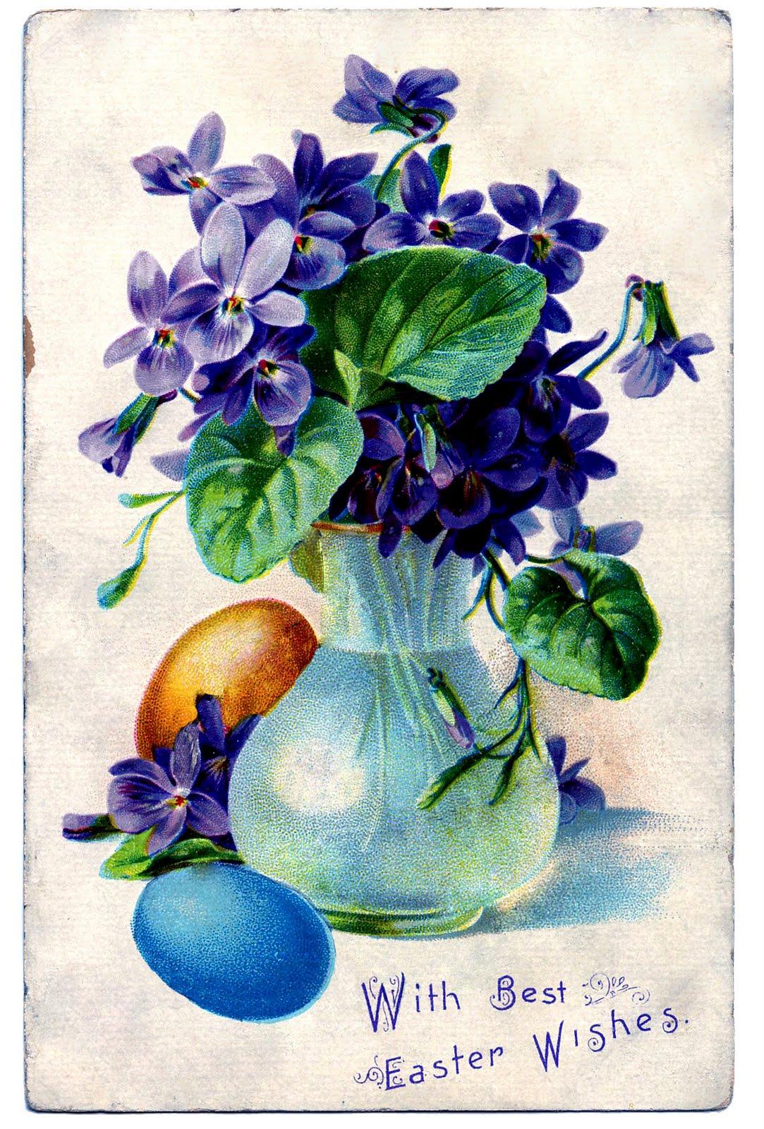 vintage spring clip art - photo #20