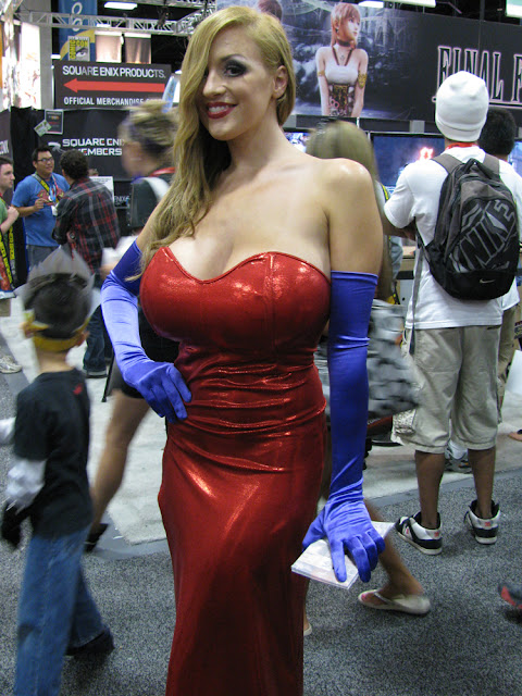 voluptous jessica rabbit costume