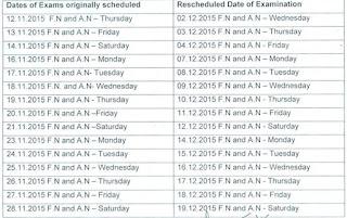 ANNA UNIVERSITY EXAM POSTPONED 2018 April/May/June