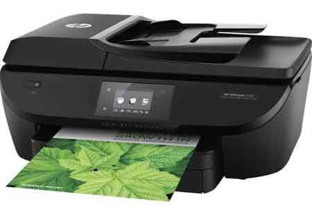 HP OfficeJet 5740 All-in-One Color Photo Printer with Wireless