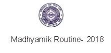 Get here madhyamik Exam Routine 2018 WBBSE