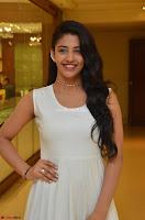 Daksha Nagarkar Cute Beauty in Sleeveless White Dress at Khwaaish Exhibition Launch 2017 ~  Exclusive 078.JPG