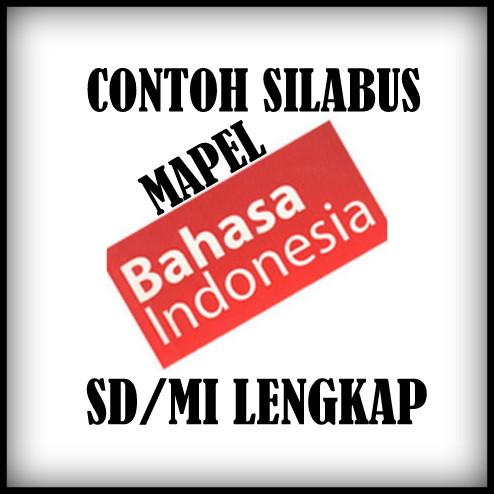 Download Contoh Silabus Mata Pelajaran Bahasa Indonesia SD/MI Lengkap