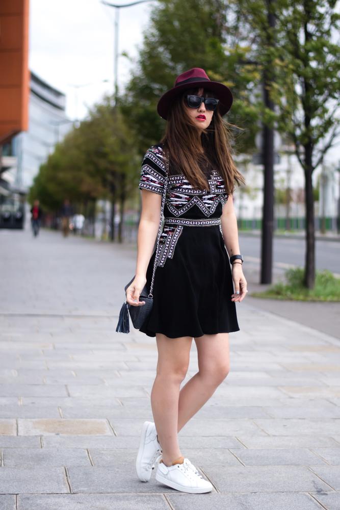 巴黎,时尚,博客,看看,与我见面,Streetstyle