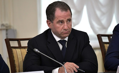 Presidential Plenipotentiary Envoy to the Volga Federal District Mikhail Babich at a meeting of the Council for the Local Self-Government Development.