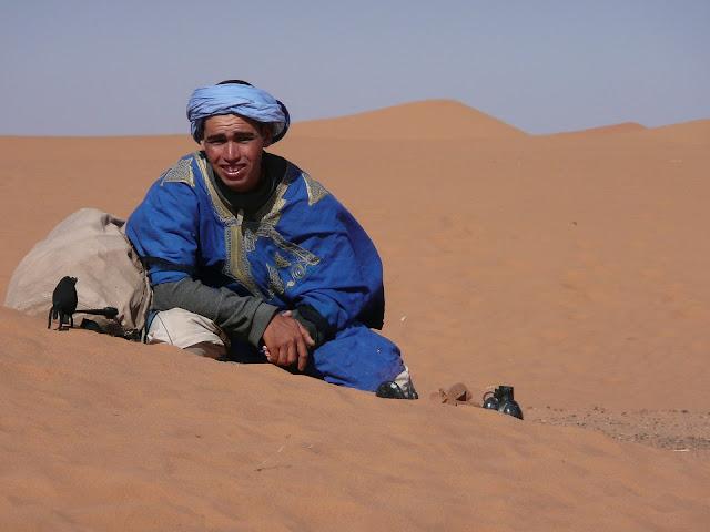 Imagen de una persona caucásica (Tunisia) la cual es habitante del norte de Africa