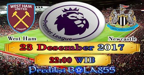 Prediksi Bola855 West Ham United vs Newcastle United 23 Desember 2017