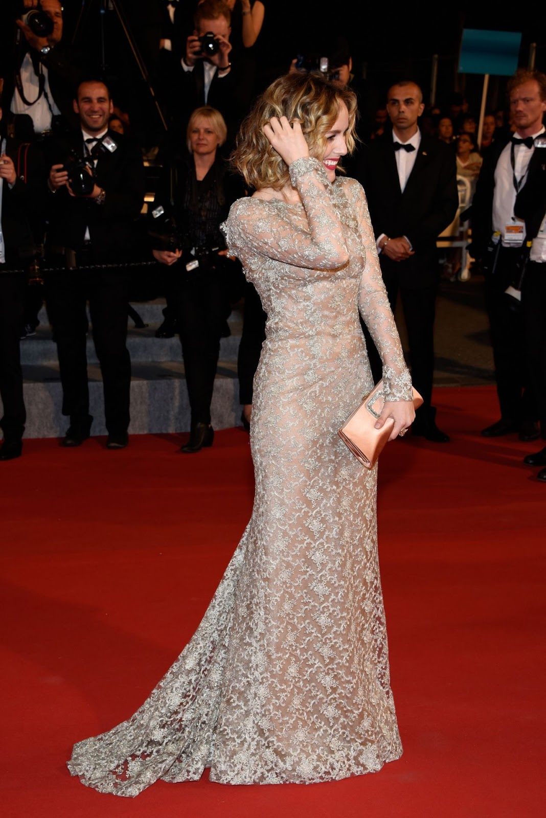 Full HQ Photos of Italian Actress 'Tatiana Luter' Il Racconto Dei Racconti Premiere At 2015 Cannes Film Festival