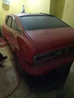 Jual mobil tua Subaru Coupe '73