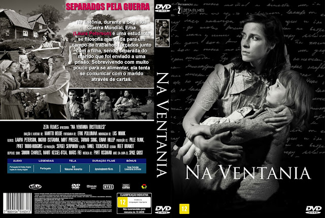 Capa DVD Na Ventania