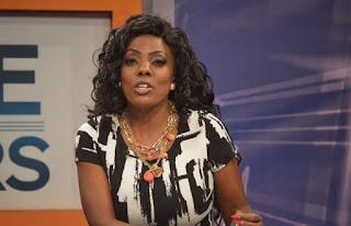 "Nana Aba Anamoah Reacts To NDC's ""Bloody Widow"" Placards"
