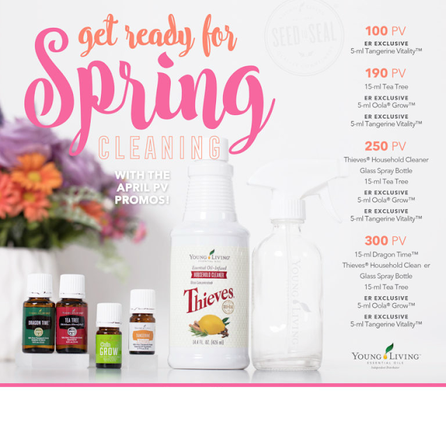 Young Living April Monthly Promotion