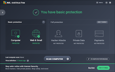 AVG AntiVirus For PC Windows 10, 8 And 7 Laptop Free Download