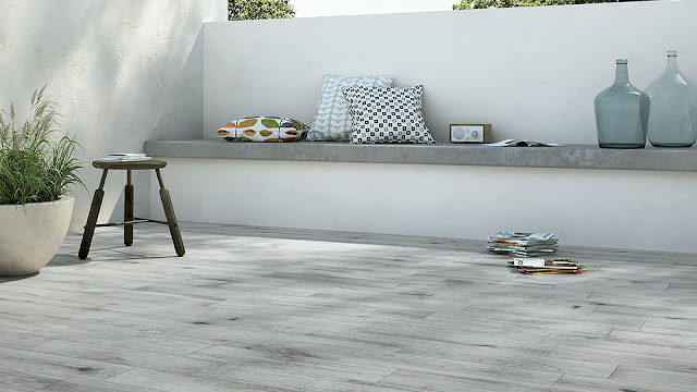 Italian porcelain tile for outdoor living with ANGEL collection