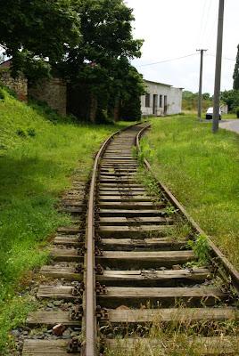 מסילת הרכבת לגטו טרזין