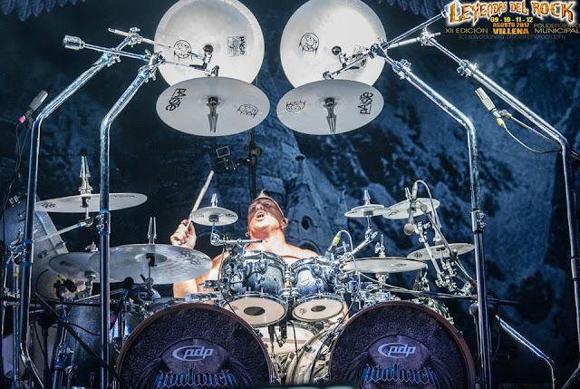 Mike Terrana - Avalanch, Leyendas Del Rock 2017