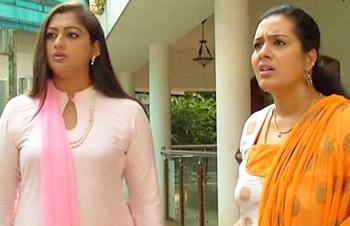 Prakash threatens Gayathri & Vinodhini   Best of Deivamagal
