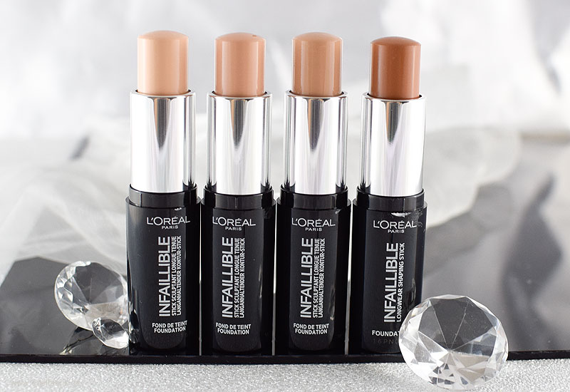 L'Oréal Infaillible Kontur-Stick, Foundation Sticks von L'Oréal; Review