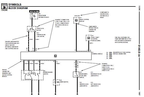 1997 bmw e36 5 318ti electrical schematic diagram