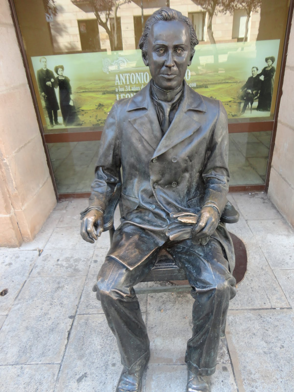 ANTONIO MACHADO EN EL INSTITUTO DE SORIA