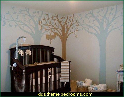 Decorating theme bedrooms - Maries Manor: Tree Murals ...