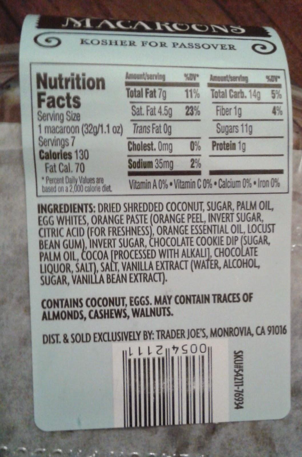 What S Good At Trader Joe S Trader Joe S Chocolate Coconut Macaroons