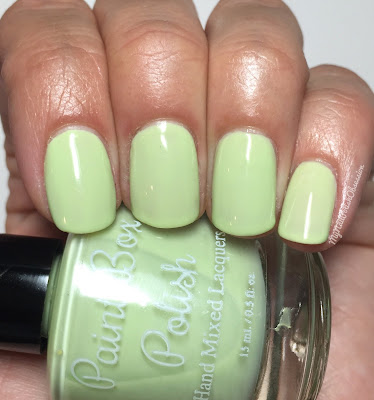 Paint Box Polish, Ciao, Gelato! collection, Spring 2016; Pistacchio