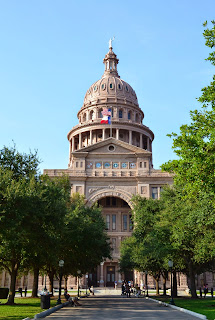 The Texas Capital in Austin.