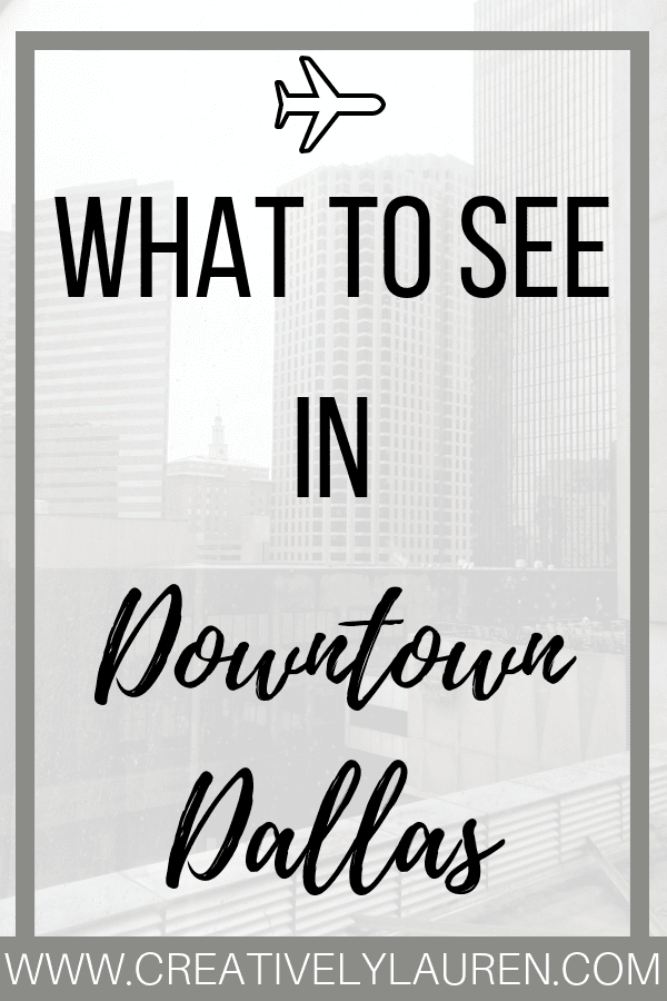 Today I wanted to share with you my trip to Dallas! I stayed in Dallas for two weeks and here are all of the cool places I went to and recommend.