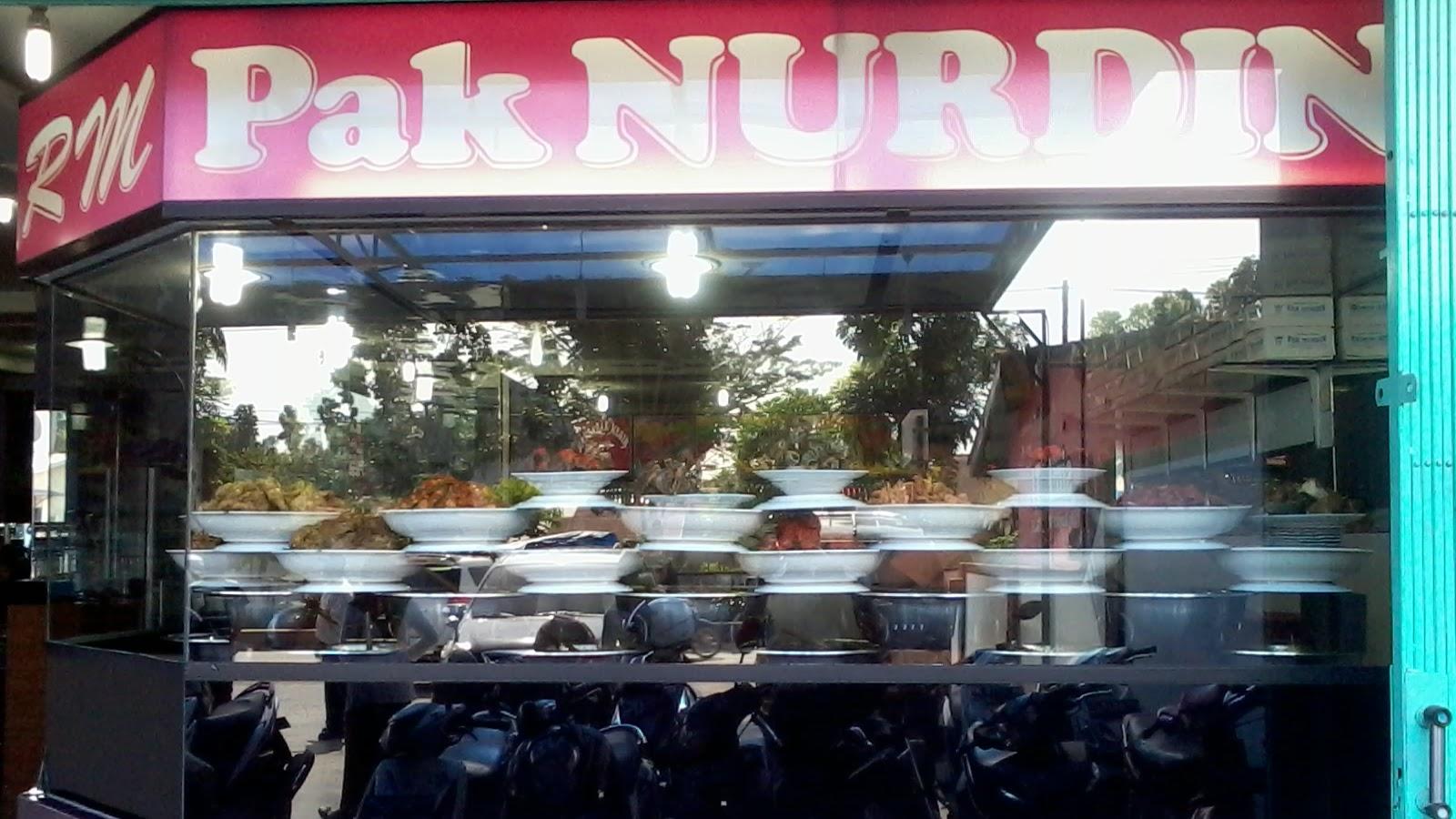 Rumah Makan Pak Nurdin, Lazies..!!