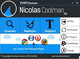 الموضوع 05 : تحميل برنامج ZHPCleaner في نسخته الاخيرة l (النسخة المحمولة من دون تركيب) 2016.