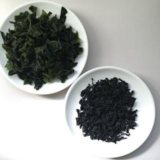 Alga wakame con quinoa