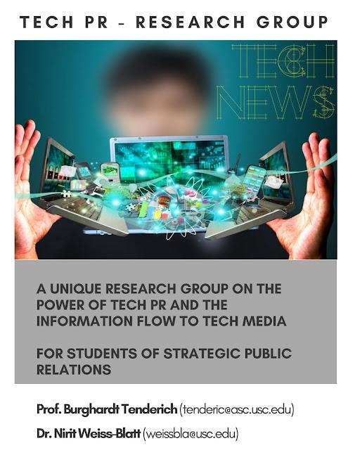 USC Annenberg_Center for Public Relations_Tech PR_Research Group_Nirit Weiss Blatt.
