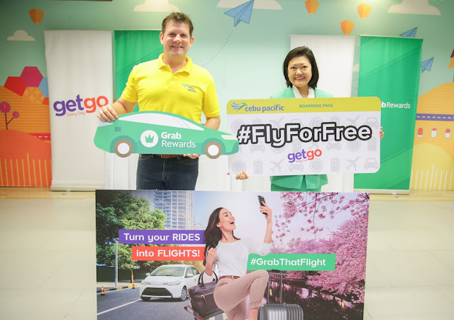 #GrabThatFlight: Grab and GetGo partner to bring Filipinos closer to their dream destinations
