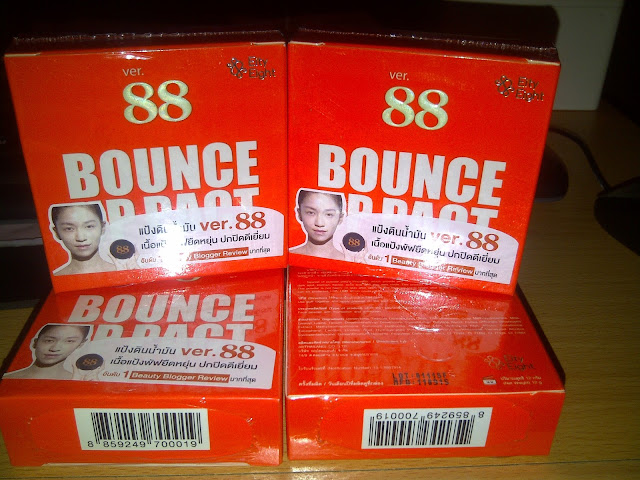 Bedak VER. 88 BOUNCE UP PACT THAILAND ORIGINAL VER 88