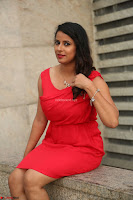 Shravya Reddy in Short Tight Red Dress Spicy Pics ~  Exclusive Pics 090.JPG