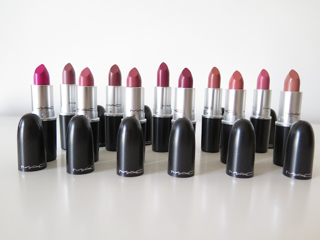 MAC lipstick haul