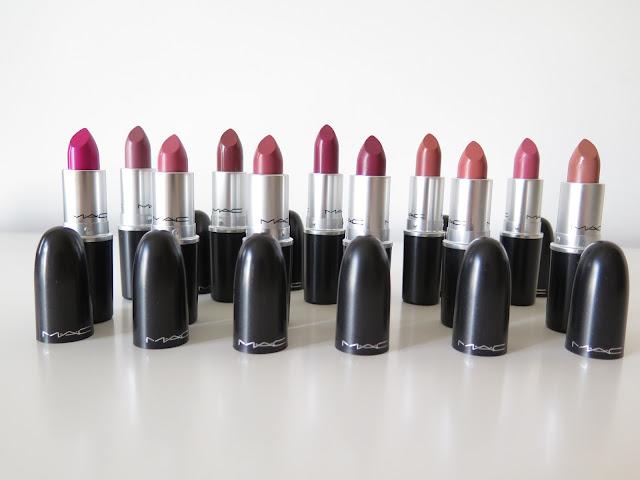 MAC lipstick haul