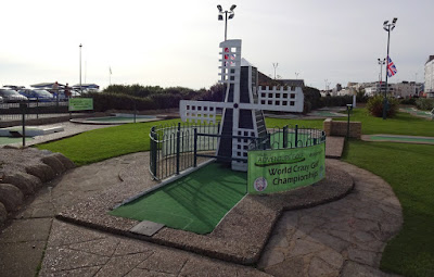 The Windmill at Hastings Crazy Golf course - home of the World Crazy Golf Championships
