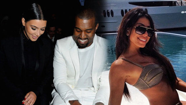 kanye west slept with canadian model