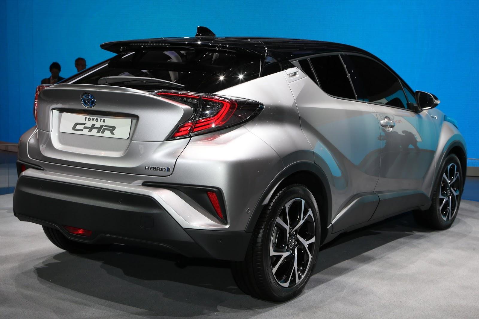 Toyota C HR Pesaing HR V Dan Nissan Juke SPESIFIKASI MODIFIKASI MOBIL