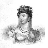 Princess Charlotte  from Huish's Memoirs of her late  royal highness Charlotte Augusta (1818)