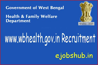 www.wbhealth.gov.in Recruitment